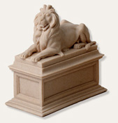 New York Public Library Lion Paperweight
