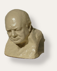 Winston Churchill by Oscar Nemon