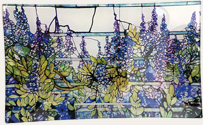 Tiffany Wisteria tray